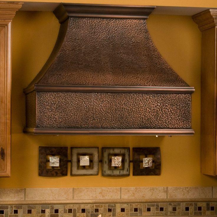 "36"" Tuscan Series Copper Wall-Mount Range Hood - Kitchen"