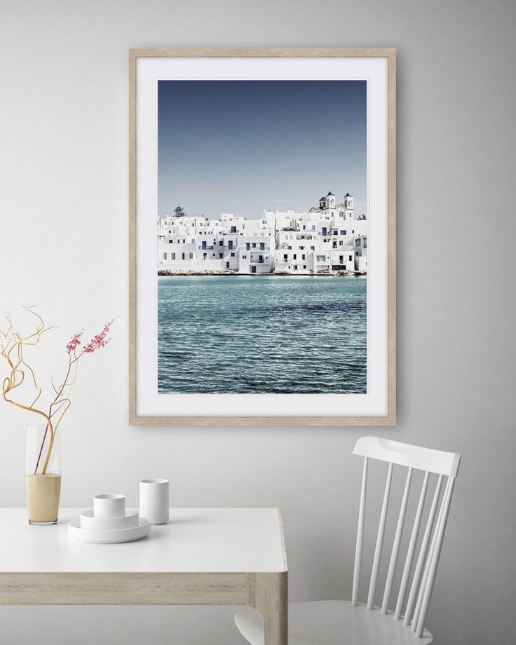 [MEDITERRANEAN BLUE #3]  Immerse yourself into the idyllic islands of Greece where the crystal clear water glistens and the blue sky shines.  Feel the relaxing holiday vibes everyday with this beautiful photographic Mediterranean Blue fine art print.