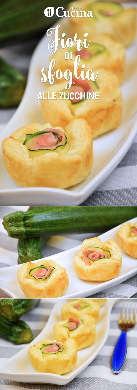 I fiori di sfoglia alle zucchine sono degli antipasti semplicissimi da preparare ma che vi assicureranno un grande successo. Perfetti per le giornate di festa. Ecco la #videoricetta