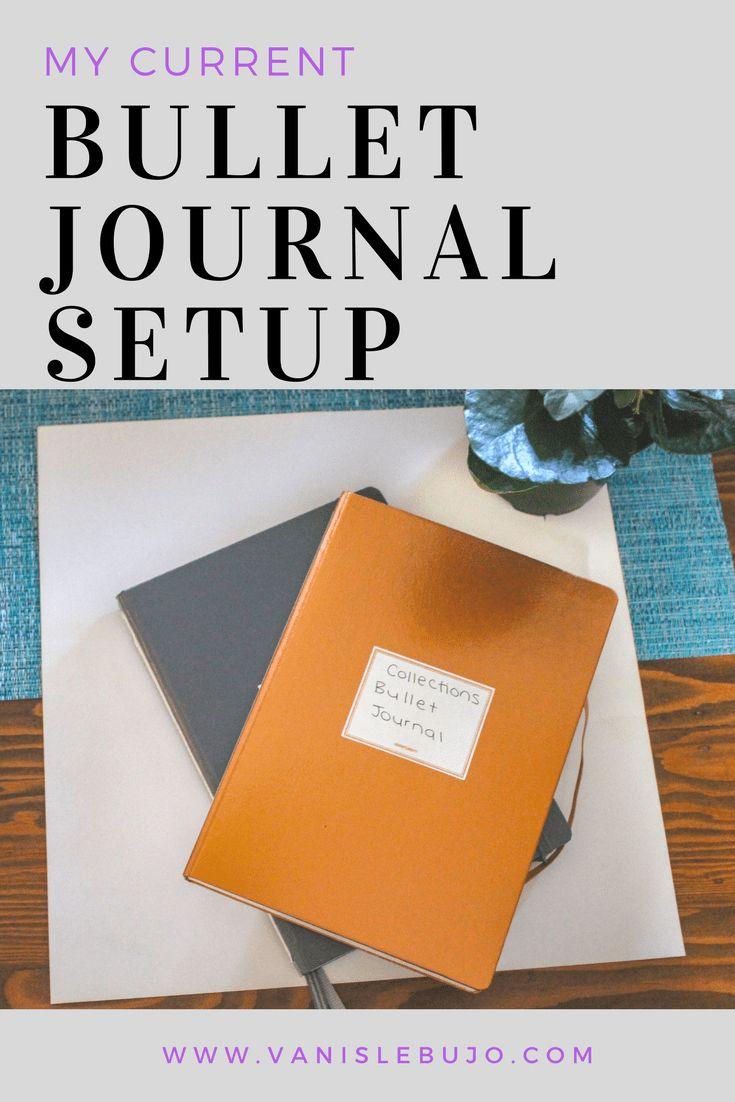 My current bullet journal setup