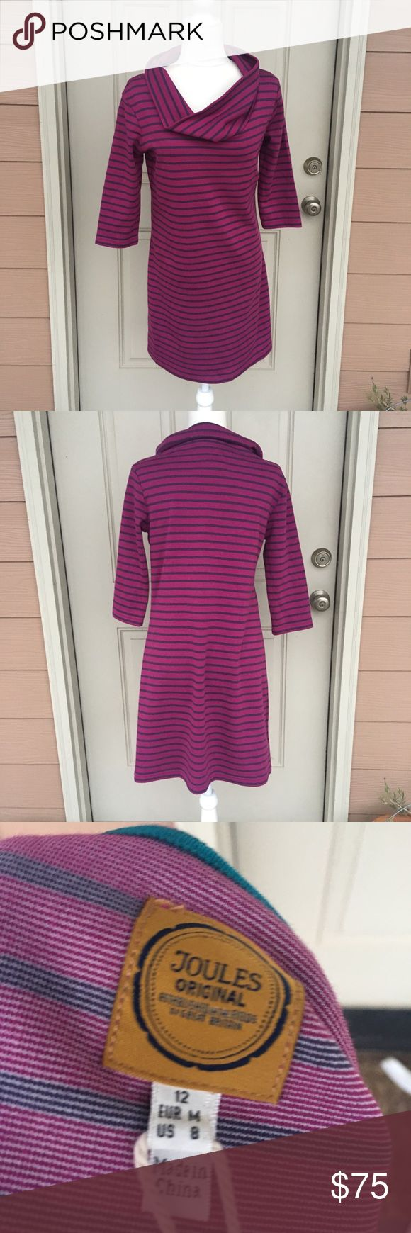 💥NWT💥 Joules Dress Joules Dress purchased at a golf tournament and never worn. So flattering! Fits true to size but is also stretchy and comfortable. From a smoke-free home :) Joules Dresses Midi