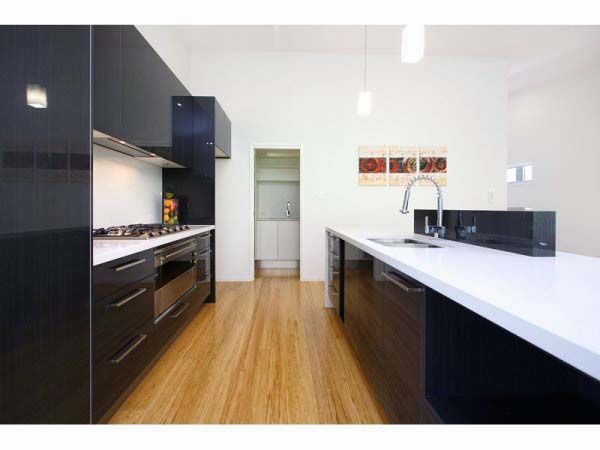 Galley Kitchen Ideas with Black Cabinets