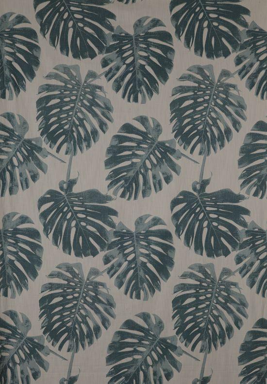 Lula fabrics /// Leaves pattern