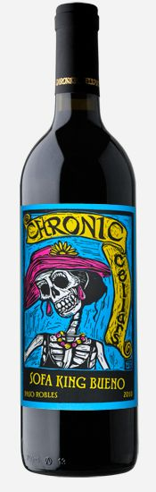 Chronic Cellars wine packaging
