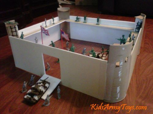 How To Build A Kids Army Toy Fort Guido Hoermann Dimarco