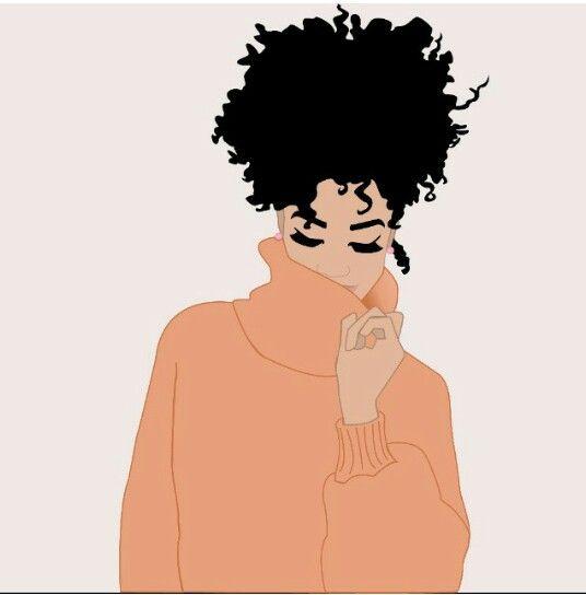 Ilustrações de negras chiques
