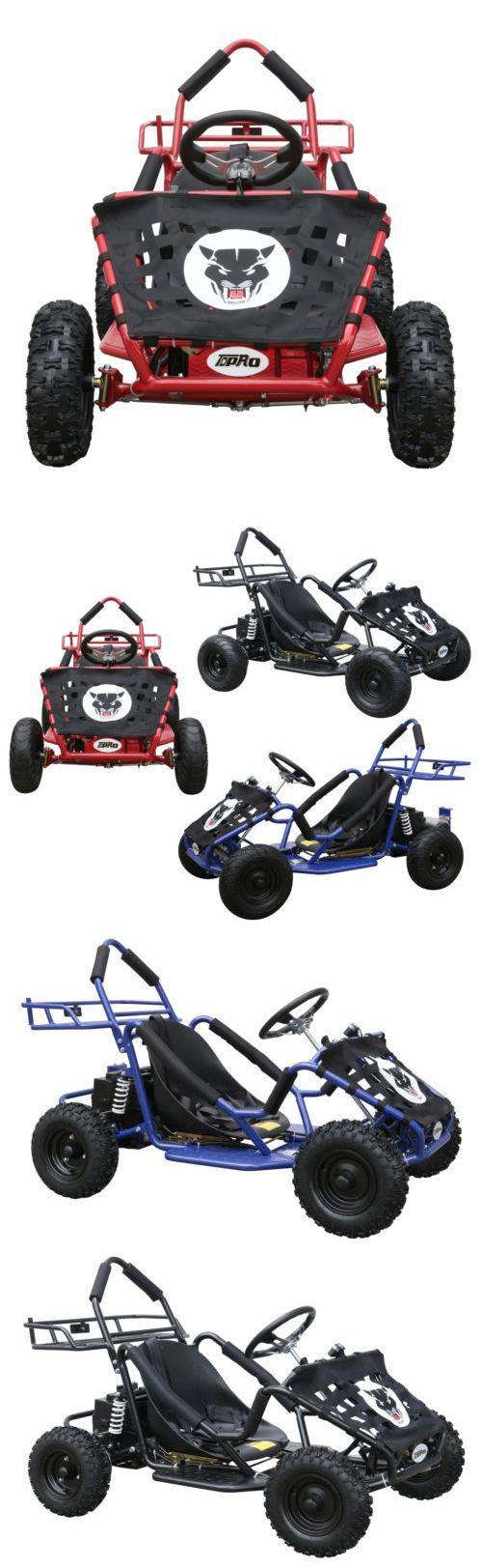 Complete Go-Karts and Frames 64656: 1000W Electric Kids Ride-On Go-Cart Go Karts Mini Bike 3 Speeds Outdoor Toy Gift -> BUY IT NOW ONLY: $749.99 on eBay!