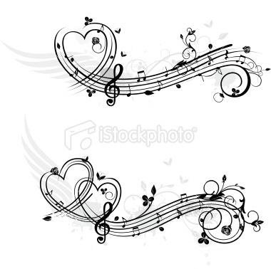 music symbol design