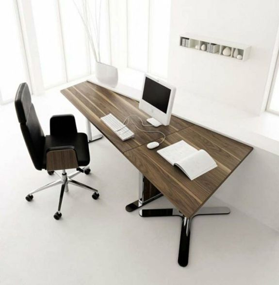 42 Gorgeous Desk Designs Ideas For Any Office Minimalist