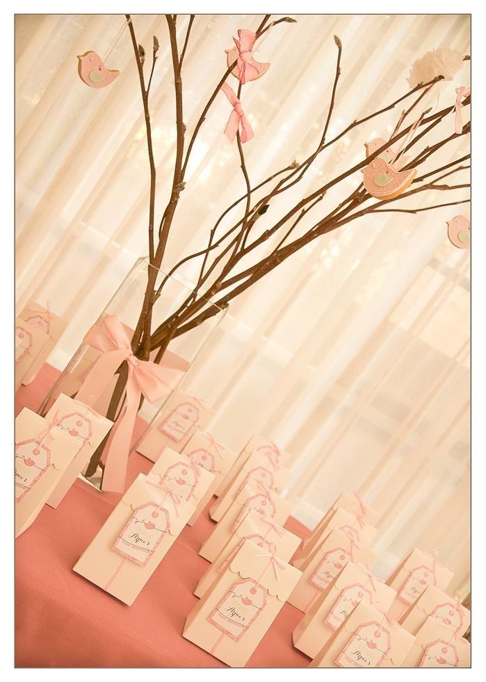 Vintage Birdie Baby Shower with Such ADORABLE IDEAS via Kara's Party Ideas
