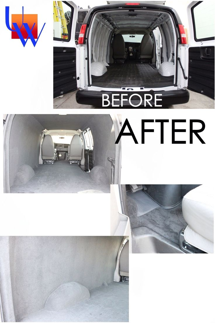 Commercial White Van Conversion Upholstery By Works In Las Vegas