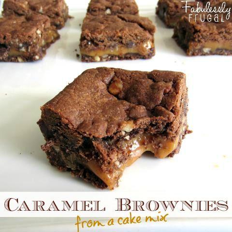 Duncan Hines Devils Food Cake Brownies