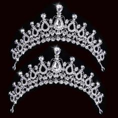 #Banggood Невеста горный хрусталь кристалл тиара корона принцессы королева свадебное головной убор аксессуары для волос (1050971) #SuperDeals