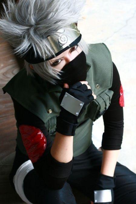 Naruto Kakashi cosplay.   Naruto world   Naruto cosplay ...