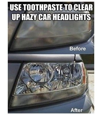 This is not my picture. Didn't know how to do that. But I did try this on my truck and it does work. Took me 10 min. for both headlights. I took a microsoft cloth, wet it, put toothpaste on it, went outside and started cleaning.  I did a circular cleaning, when I figured it was clean I used an area of the cloth that had no toothpaste on it and wiped it clean. It worked. I then cleaned the chrome on the bumper...so nice. You can go crazy with it.. try not too...then your doing too much