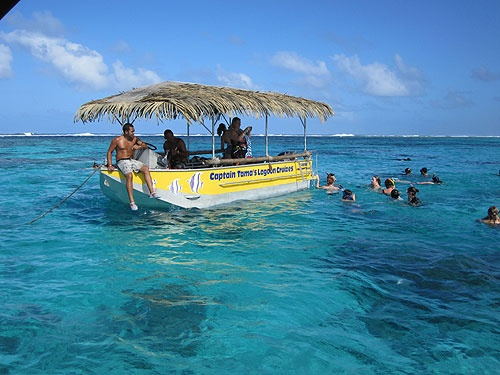 Captain Tama's, Muri Beach, Rarotonga - honeymoon 2011