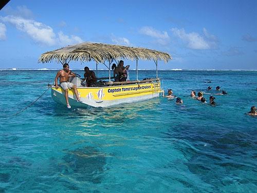 Captain Tama's, Muri Beach, Rarotonga  Rumours Luxury Villas and Spa - Rarotonga. For your luxury wedding and honeymoon www.rumours-rarotonga.com