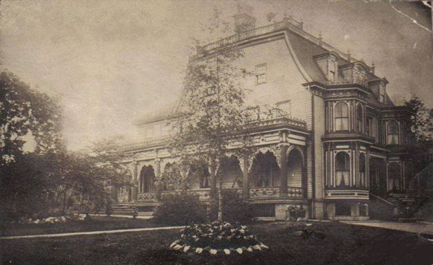 Martin P. Black house at the Corner of Gottingen and North streets (posted originally to Vintage Halifax Facebook page)