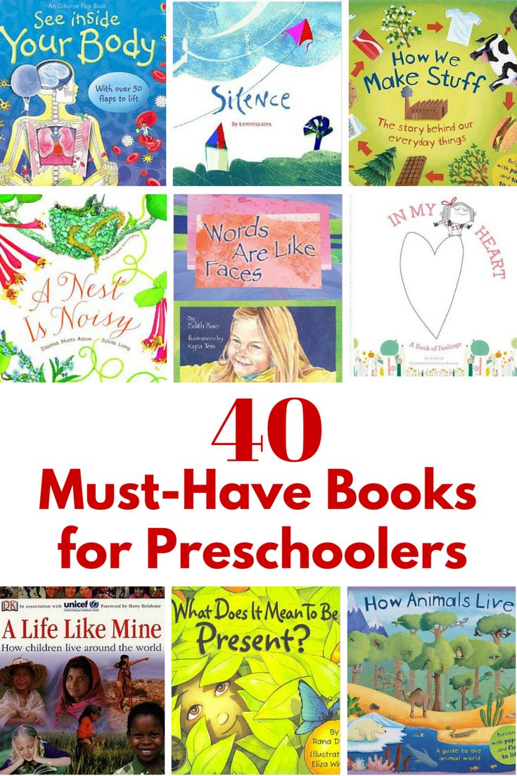 Montessori Nature: 40 Must-Have Books for Preschoolers