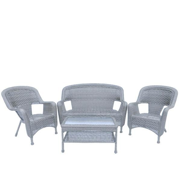 Add This Beautiful Unique Gray Weather Resistant Patio Set To Your Outdoor Living Space Fo Furniture Loveseat Gray Patio Furniture Outdoor Patio Furniture Sets