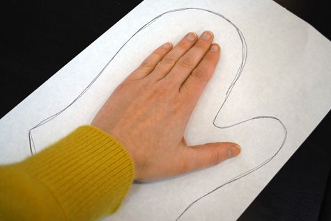 How to make oven mitt pattern craft idea and free project tutorial