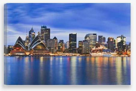 Canvas Wall Art – Sydney Harbour