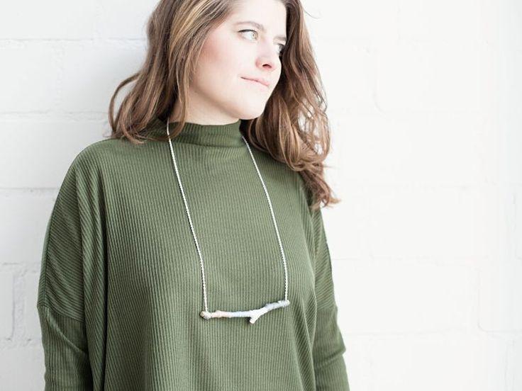 DIY tutorial: Make a Branch Necklace  via DaWanda.com