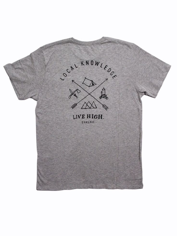 Men's Local Knowledge Tees Series