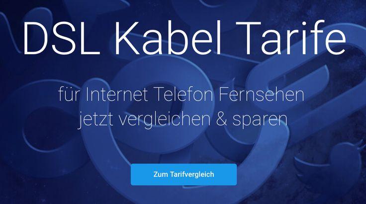 DSL & Kabel Tarife für Internet, Telefon und Fernsehen. Jetzt vergleichen und Monat für Monat sparen.