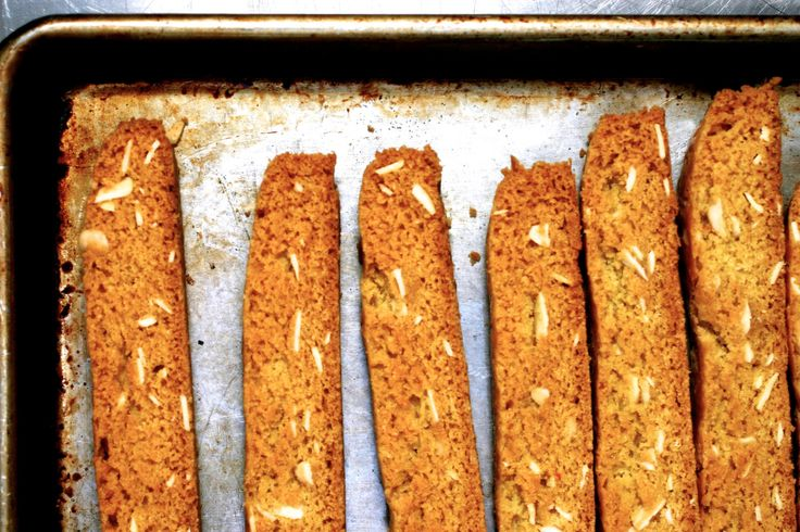 """This biscotti is what I like to think of as a Hole in One Recipe. And I know what you're thinking, """"Deb, golf? You never seemed the type."""" And you'd be exactly correct; will…"""