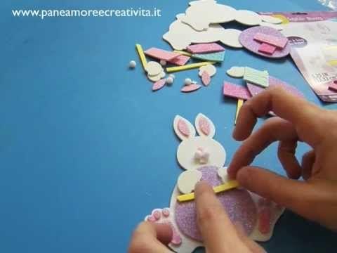 Lavoretti di Pasqua: come fare un coniglietto