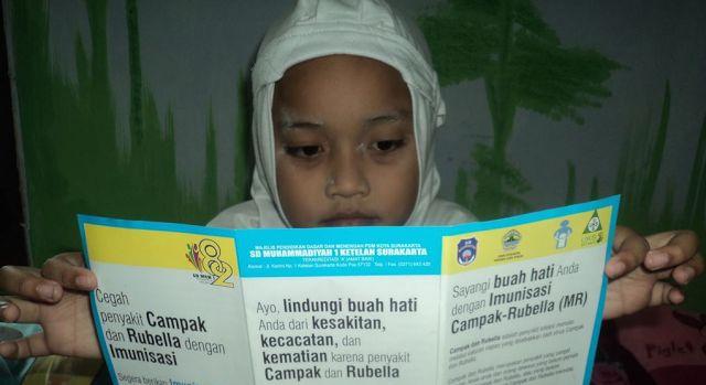 RiauJOS.com, Solo  - Wijayanti, seorang ibu di kota Solo yang sedang hamil anak kedua masih ingat betul penyakit rubella yang diderita kak...