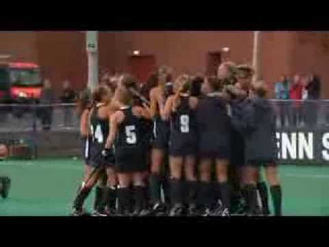 Penn State Field Hockey winning save and game winning goal in shootout - 10/19/13