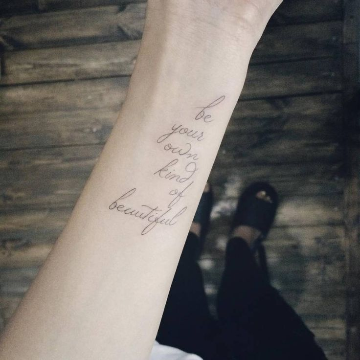 43 Wonderful Quote Wrist Tattoos: Best 25+ Wrist Tattoos Sayings Ideas On Pinterest