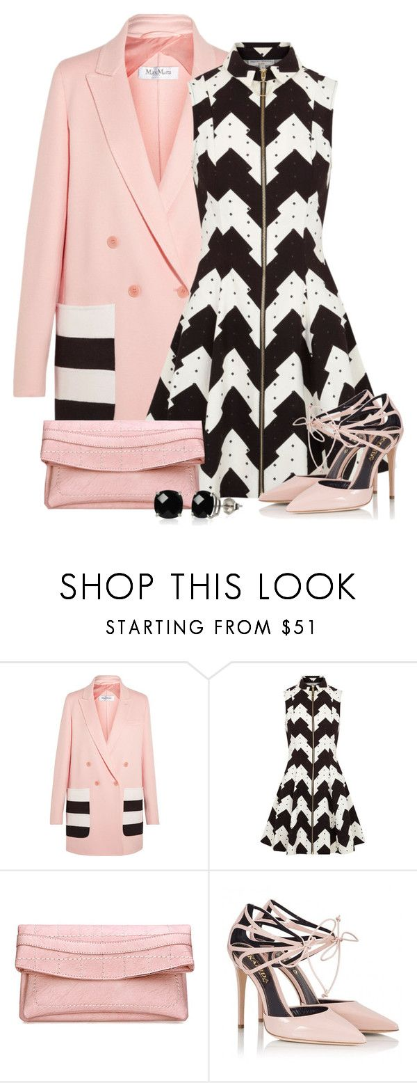 """""""Opening Ceremony Kingston Printed Cotton Canvas Dress"""" by cassandra-cafone-wright ❤ liked on Polyvore featuring MaxMara, Opening Ceremony, Fratelli Karida and Belk & Co."""