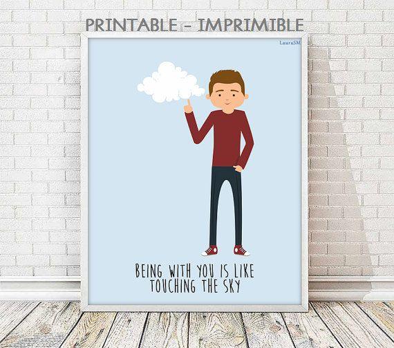 laminas romanticas, laminas decorativas, laminas imprimibles, laminas A3, laminas A4, laminas amor, ilustracion imprimible,laminas mensaje,