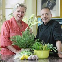 Aussie icon Maggie Beer (The Cook) and Ex Brit Simon Bryant (The Chef) have some amazing Australian (and non-Aussie) recipes - recipes from all four series are available