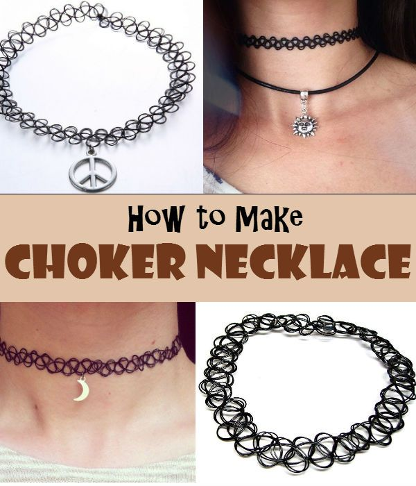 A DIY choker necklace is a lovely ladies' accessories for everyday use. Make one for yourself or to your BFF.