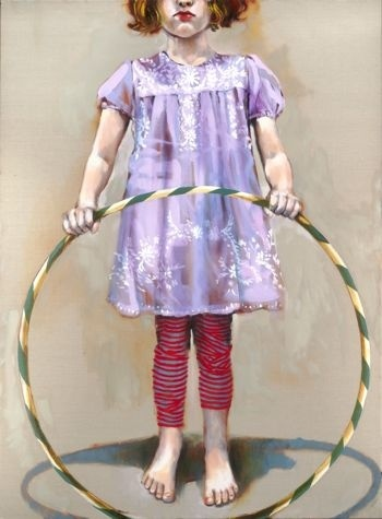 In Her Lilac Smock by Sophie Gralton