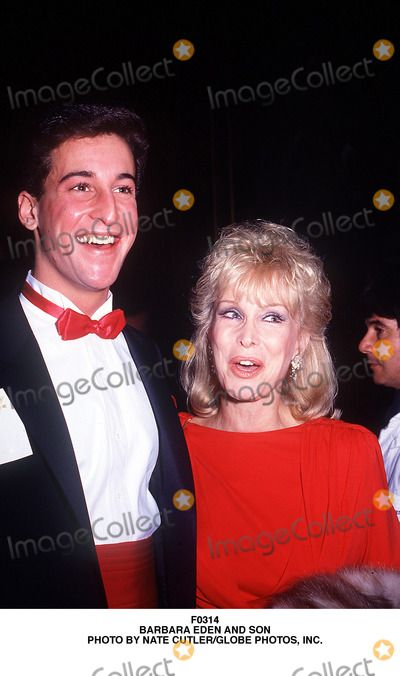 Barbara Eden Photo - Barbara Eden and Son Matthew Ansara Photo by Nate Cutler/Globe Photos, Inc.