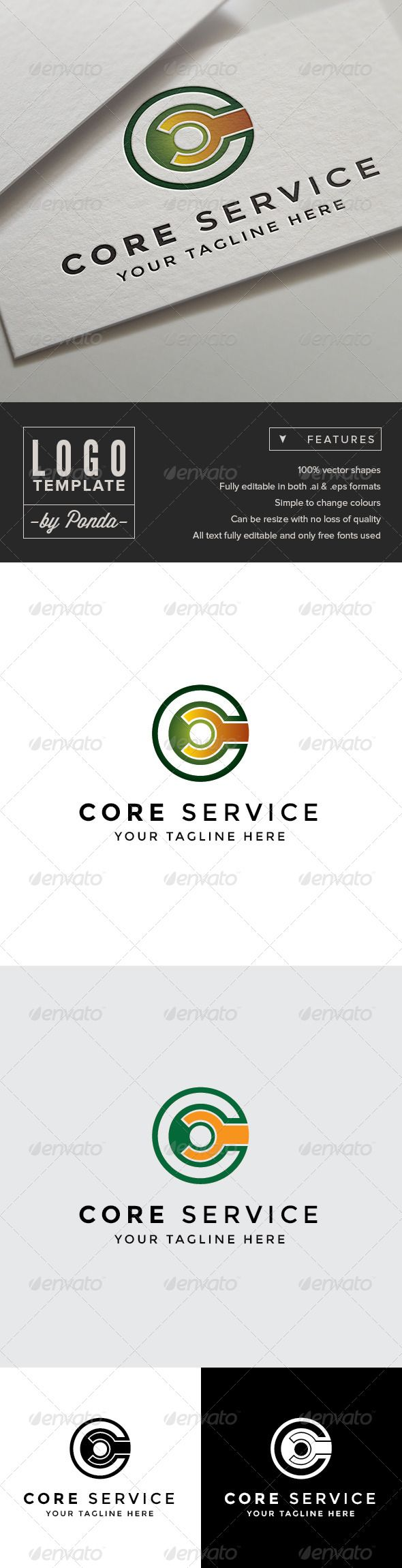 273 best logo computer repair images on pinterest fonts texts core service logo template business card magicingreecefo Images