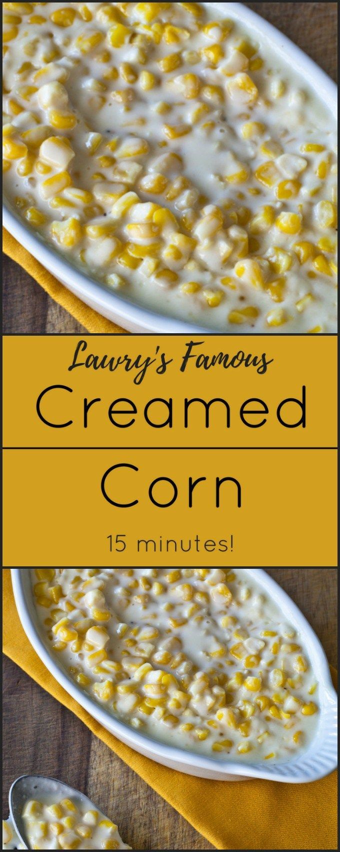 Lawryu0027s Classic Creamed Corn is the perfect