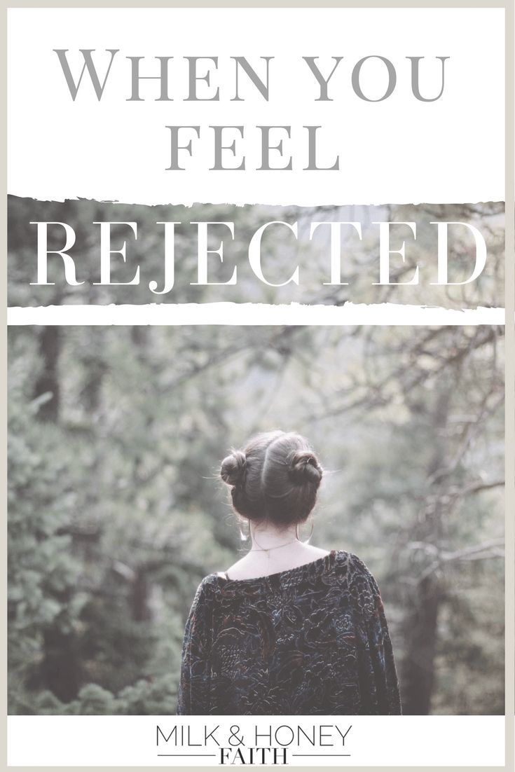 There are times when we feel pushed away and rejected by those around us. Read more about what to do when you feel unwanted.