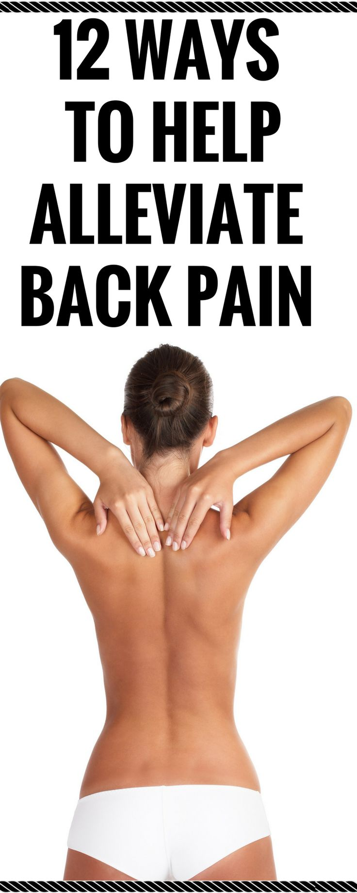 12 Ways to help alleviate back pain http://wp.me/p8Hrfc-4V