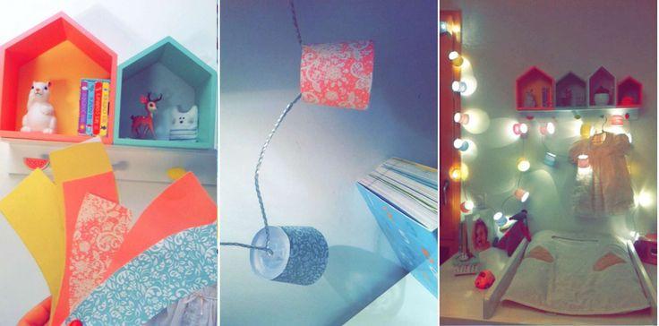 #babyroom #diy #baby #bébé #enfant #children #chambre #guirlande