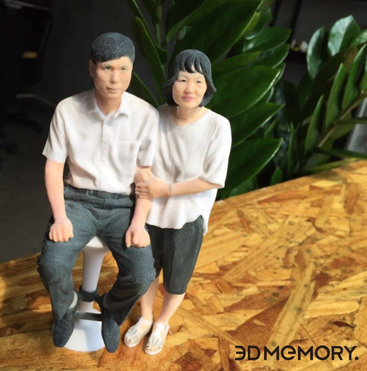 Made By 3D MEMORY. This is artminiature #artminiautre #3DPrinting #3D #miniature #art #3DMEMORY #Parents #HongDae #홍대 #부모님 #3D메모리
