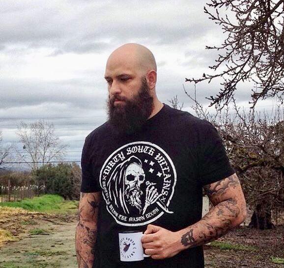 Bald Beard Brawn Brains Yessssss Please Bald Men Bald Men With Beards Bald Men Style