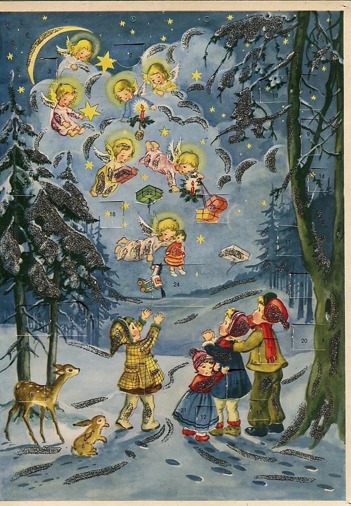 Art Advent Calendar : Best images about german advent calendars on pinterest