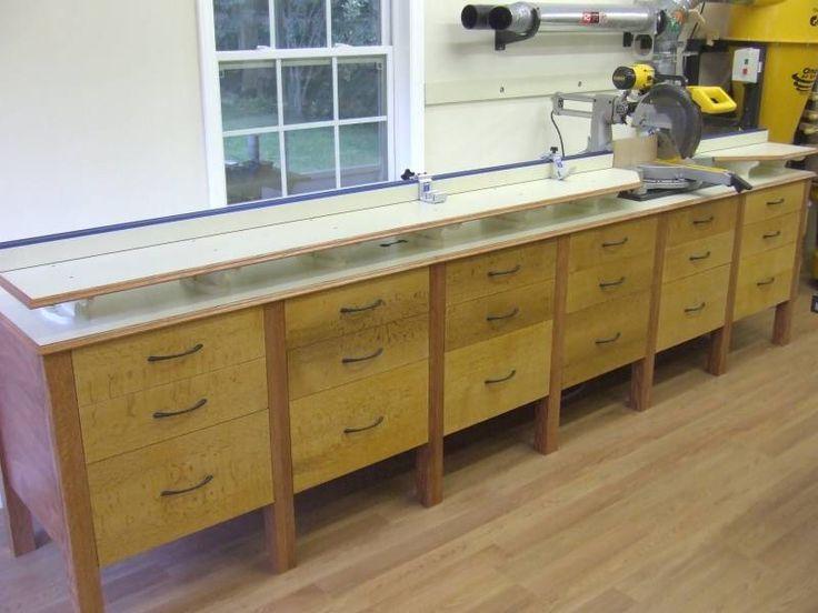 Miter Saw Station Woodworking Plan Woodwork Plans