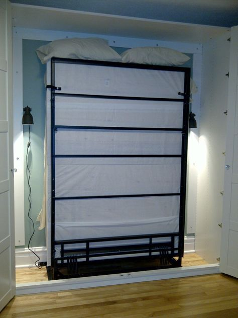 Renovations and old houses diy ikea murphy bed murphy for Apartment therapy murphy bed